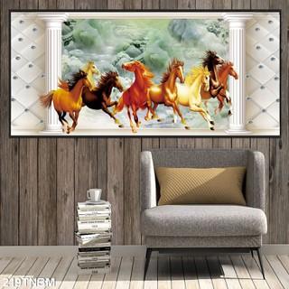 Tranh gạch 3D - ngựa phi [ĐƯỢC KIỂM HÀNG] 48741447 - 48741447 thumbnail