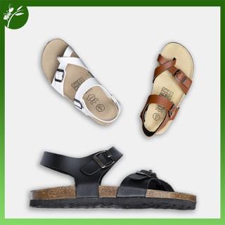 Giày Sandal đế trấu Da tổng hợp Unisex Quai xỏ ngón - SST.QXN thumbnail