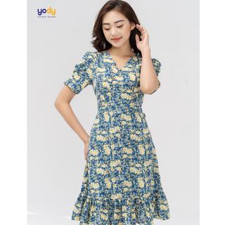 Đầm Voan Hoa Đuôi Cá Dáng Xòe Yody - VAN4154 thumbnail