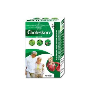 Viên uống giảm mỡ máu Choleskore, hỗ trợ chống oxy hóa giảm cholesterol và triglycerid máu - Viên uống giảm mỡ máu Choleskore, thumbnail