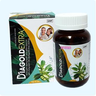 Viên Uống Giảm Tiểu Đường Diagold Extra- Giúp Giảm Cholesterol Máu, Cải Thiện Biến Chứng Tiểu Đường,Điều Hòa Huyết Áp - Viên Uống Giảm Tiểu Đường Diagold Extra thumbnail