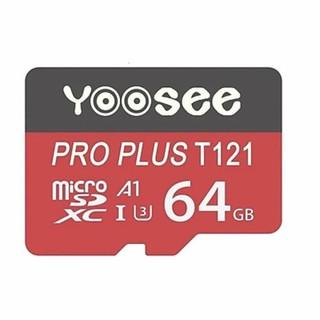 Thẻ nhớ Yoosee 64Gb tốc độ cao chuyên dụng cho camera, điện thoại - Thẻ đỏ thumbnail