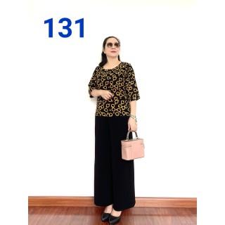 Thời Trang Trung Niên - Phối Áo Lụa Hàn Châu Tay Lỡ, Quần Đũi Cao Cấp, Siêu Mềm, Siêu Mát Dành cho Quý Bà - Laddy Store - phoilo2021 thumbnail
