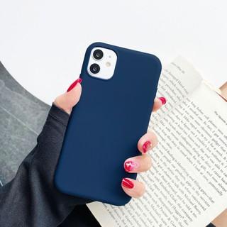 Ốp lưng điện thoại iphone Trơn dẻo Xanh đậm 5 5s 6 6plus 6s 6splus 7 7plus 8 8plus x xr xs xs max 11 12 pro max plus pro - US0021XR thumbnail
