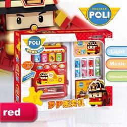 Máy bán nước tự động Poli_Màu đỏ