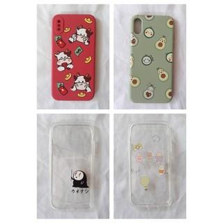 Ốp lưng điện thoại nhựa dẻo IPHONE X XS đủ loại mẫu họa tiết - UA0010XR thumbnail