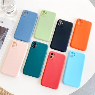 Ốp lưng iphone Trơn nhựa dẻo bảo vệ camera 5 5s 6 6plus 6s 6splus 7 7plus 8 8plus x xr xs 11 12 pro max plus promax đủ mẫu màu - UA0008XR thumbnail