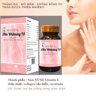 Viên Uống Trắng Da, mờ nám tàn nhang, Tăng Cường Nội Tiết Tố Nữ - TDA thumbnail