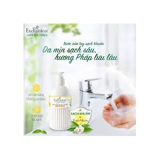 [ SIÊU SALE CHÍNH HÃNG ] Nước rửa tay sạch khuẩn từ thiên nhiên Enchanteur Charming Anti-Bacterial 300gr - NRTE300 thumbnail