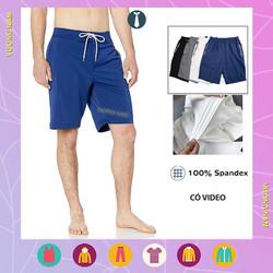 Quần đùi nam mặc nhà đẹp thể thao ngắn vải thun lạnh co giãn 4 chiều