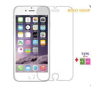 Kính cường lực iphone 2.5D 6 6s 6plus 6splus 7 8 7plus 8plus X Xsmax 11 12 max plus pro promax trong suốt vát cạnh - AW001VB thumbnail