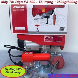 Máy Tời Điện PA 600 - Tời Điện ACZ Nhập Khẩu - 6595_49180940 thumbnail