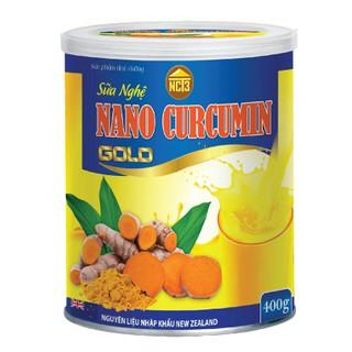 [Hộp 400] Sữa Nghệ Nano Curcumin Gold - Giảm Đau Dạ Dày, Tá Tràng,Làm Đẹp Da, Trắng Da, Chống Oxy Hóa, Ngăn Ngừa Loãng Xương, Xốp Xương - Sữa nghệ thumbnail