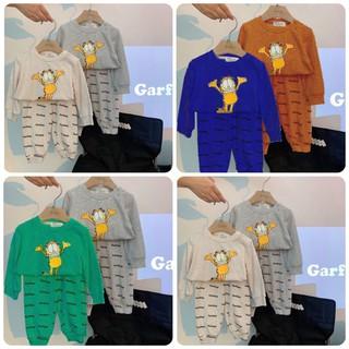 Bộ quần áo thu đông trẻ em 7-17kg dành cho cả bé trai và bé gái mẫu Lion - Lion thumbnail