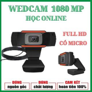 [BẢO HÀNH 12 THÁNG] Webcam Siêu nét đàm thoại bàn,kẹp loại 1080P - dạy học và học trực tuyến có MICRO - webcam thumbnail