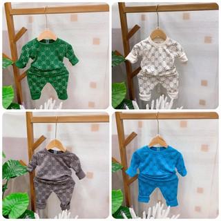 Bộ quần áo thu đông trẻ em 7-17kg dành cho cả bé trai và bé gái mẫu ziczac - Bộ ZicZac thumbnail