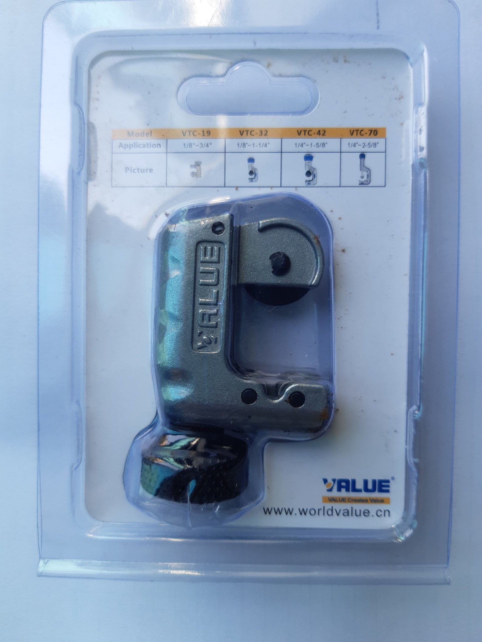 Hình ảnh Dao Cắt Ống Đồng Value Model: VTC - 19 ( Hàng chính hãng)