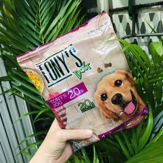 TONY S DOG thức ăn hạt khô dành cho chó - cún lớn nhỏ - túi 400gr - 4221_49307091 thumbnail