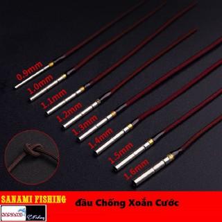 Đầu Chống Xoắn Xoay 360 Độ Dùng Cho Ngọn Cần Câu Tay PK-43 - DauChongXoan thumbnail