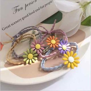 Chun buộc tóc hoa cúc nhiều màu dễ thương - CTOC thumbnail