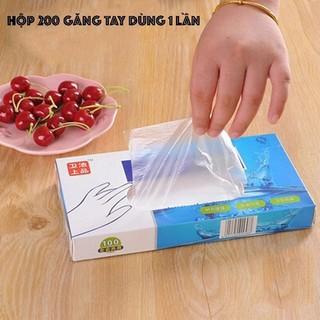 Hộp 200 găng tay dùng 1 lần - Hộp 200 Găng Tay Nilong Thần Thánh - LL1500 thumbnail