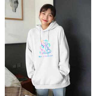Áo khoác nỉ hoodie phản quang cho nam và nữ - hd4 thumbnail