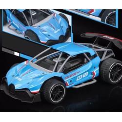 Xe ô tô đua Drift điều khiển từ xa vỏ thép tỷ lệ 1/20, mô hình đồ chơi rc  Ford Mustang siêu bền 2WD