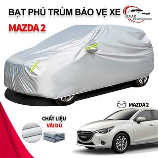 [MAZDA 2] Bạt che nắng mưa bảo vệ xe ô tô Mazda2 , bạt vải dù Oxford cao cấp độ bền cao , áo trùm phủ kín xe oto Mazda 5 chỗ cách nhiệt , bạc che ô tô xe hơi 3 lớp thông minh - 6119762168 thumbnail