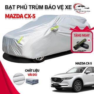 [MAZDA CX-5] Bạt phủ xe ô tô 3 lớp thông minh, chất liệu vải dù oxford cao cấp, áo trùm bảo vệ xe Mazda Cx5 che nắng,mưa , bạc phủ trùm bảo vệ che nắng, chống nòng, che mưa cho xe oto xe hơi - 6241586683 thumbnail