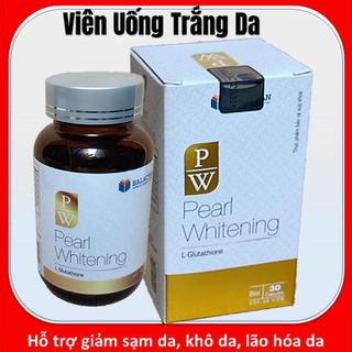 Viên Uống Trắng Da Toàn Thân Pearl Whitening - Giúp Trắng Da, Mờ Nám, Tàn Nhang NHANH, HIỆU QUẢ - PW1 thumbnail