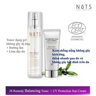 Bộ sản phẩm Nước cân bằng 28 Remedy và Kem chống nắng - 2979_51212976 thumbnail