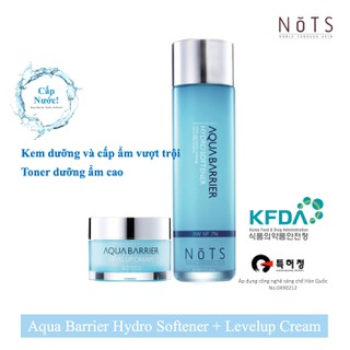 combo 2 NoTS Aqua Barrier Hydro Softener + Levelup Cream độ ẩm tự nhiên của da - 2980_51201147 thumbnail