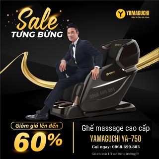 Ghế massage YAMAGUCHI 750 ( YA-750 ) Giá rẻ nhất VIỆT NAM - Gọi ngay 0868.699.885 để nhận quà Giảm giá 75% - ya-750 thumbnail
