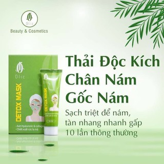 [Chính Hãng] THẢI ĐỘC KÍCH CHÂN GỐC NÁM OLIC tuýp 30g (kèm thẻ bảo hành) - hutnam thumbnail