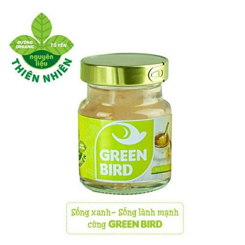 Hộp Quà Nước Yến Chưng Đường Phèn 6 Hũ/72g Nutrinest Green Bird