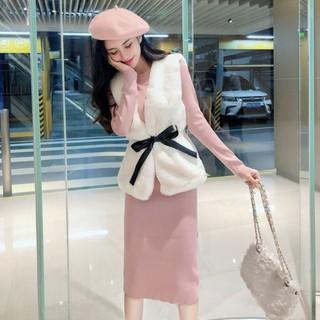 Áo ghi lê lông cừu nữ hàng nhập Quảng Châu nhiều màu - Gilelongcuu2 thumbnail