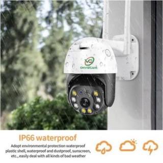[BẢO HÀNH 5 NĂM- ẢNH THẬT] Camera giám sát wifi ONVIZCAM HK30 ngoài trời xoay 360 chống nước 3.0 MPx có kết nối smart TV kèm thẻ nhớ - 3268_51436053 thumbnail