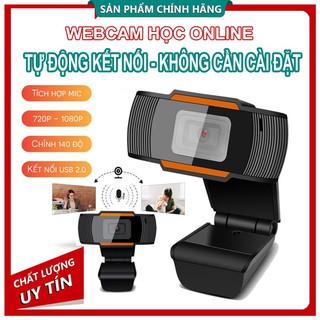 [BẢO HÀNH 5 NĂM - SIÊU NÉT] Webcam Siêu nét đàm thoại bàn,kẹp - dạy học và học trực tuyến có MICRO Cắm là nhận không cần cài đặt - webcam1 thumbnail