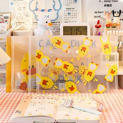Túi Đựng Tài Liệu Bìa Simi size A4 in hình vịt vàng dễ thương