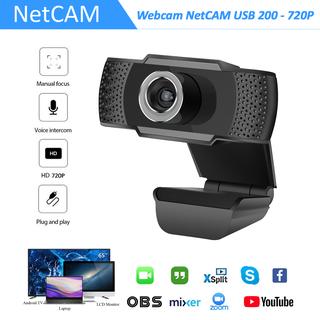 Webcam NetCAM USB 200 độ phân giải 720P - Hãng phân phối chính thức - Webcam NetCAM 200 720P thumbnail