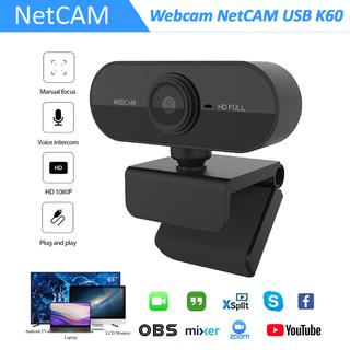 Webcam NetCAM USB K60 độ phân giải 1080P - Hãng phân phối chính thức - Webcam NetCAM K60 1080P thumbnail