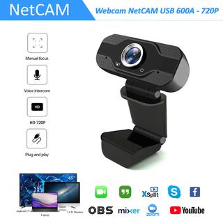 Webcam NetCAM USB 600A độ phân giải 720P - Hãng phân phối chính thức - Webcam NetCAM 600A 720P thumbnail