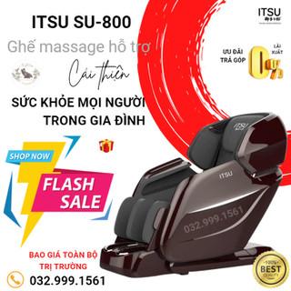 GHẾ MASSAGE ITSU SU-800 - GIẢM GIÁ SỐC 75% VÀ VÔ VÀN QUÀ TẶNG KHỦNG - GỌI NGAY 032.999.1561 - MUA 1 TẶNG 1 ( mua 1 ghế massage tặng 1 máy chạy bộ ) - su-800 thumbnail