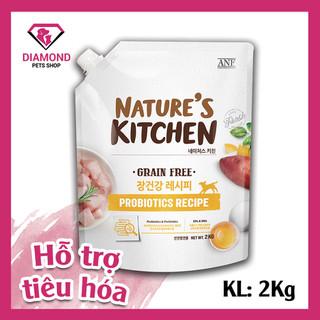 [ Date 2 2022] Hạt thức ăn chức năng tốt cho sức khoẻ đường ruột dành cho chó mọi lứa tuổi NATURE S KITCHEN 2KG - 4221_51682212 thumbnail