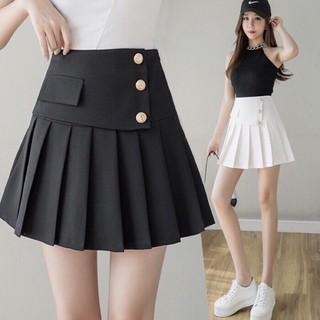 Chân váy ngắn xếp ly có quần trong vintage, Chân váy tennis ngắn cạp cao ulzzang basic - Vay3Khuy thumbnail
