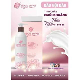 Dầu gội đầu Muối hồng Himalaya kết hợp với hoa hồng Bungari - daumuoihong thumbnail