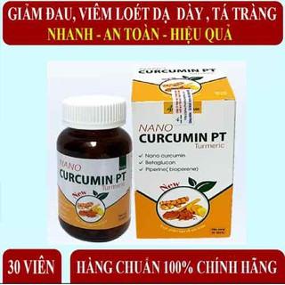 Dạ dày NANO CURCUMIN PT, xử lý các vấn đề về dạ dày, đại tràng, lành nhanh vết loét hiệu quả - VUDD thumbnail
