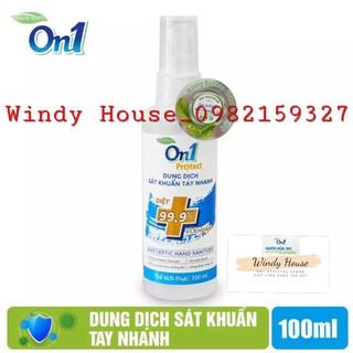 Dung Dịch Sát Khuẩn Tay Nhanh On1 Protect Hương BamBoo Charcoal 100ml - 4077_51795636 thumbnail