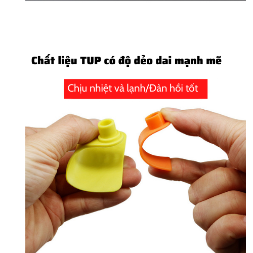 Thẻ đeo tai bò dê heo TPU 5cm Nhập khẩu - TDTBD1 1