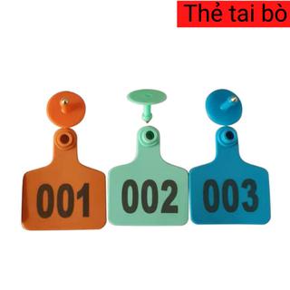 Thẻ đeo tai bò dê heo TPU 5cm Nhập khẩu - TDTBD1 7
